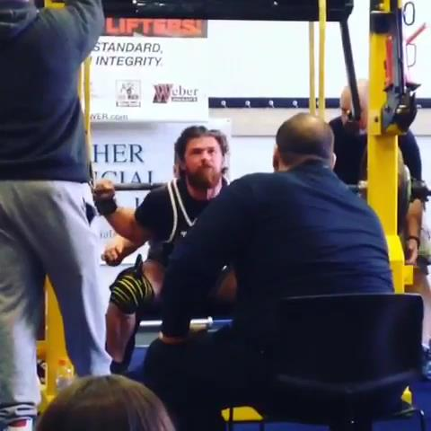 BCB Team Member Jim Scheller Breaks IPA Junior Amateur Raw World Squat Record!