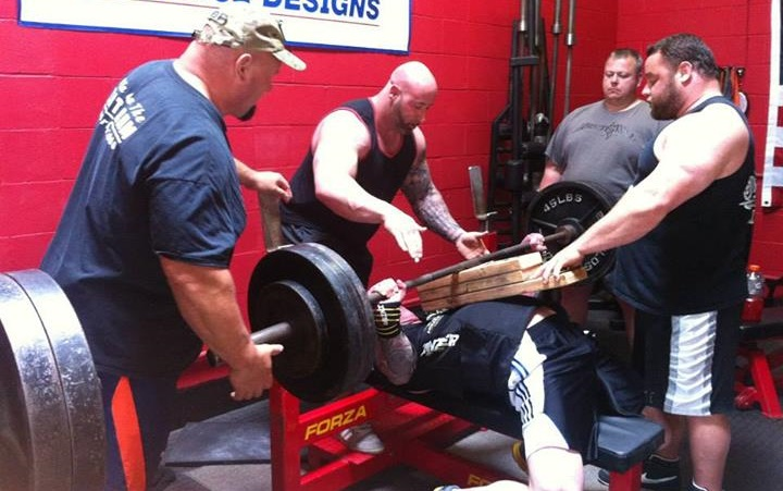 David Hoff & Donnie Thompson: Bench Press & Sports Performance Clinic Recap