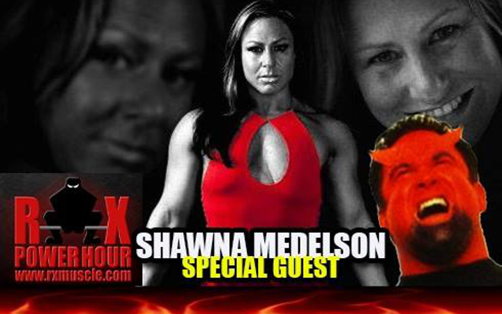 Our Coach Shawna Mendelson On RXMuscle's RX Power Hour Radio!