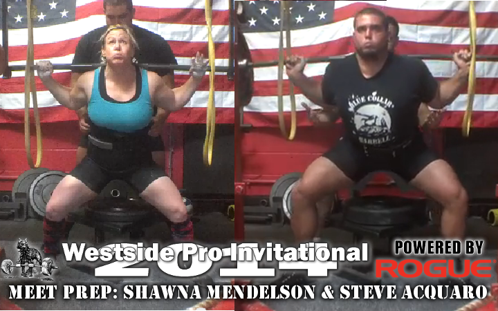 Team Training: Shawna Mendelson and Steve Acquaro preparing for the Westside Pro Invitational