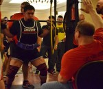 Mike Russo squatting 650 in his first ever meet!