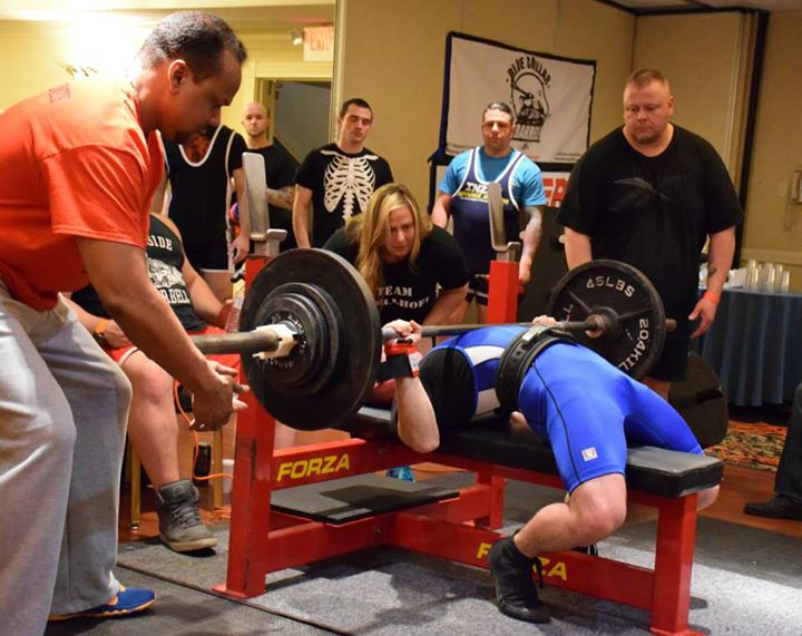 powerlifting meet results ny city