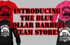 Introducing The Team Blue Collar Barbell Store!