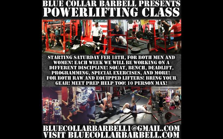 Introducing BCB's Powerlifting Class!