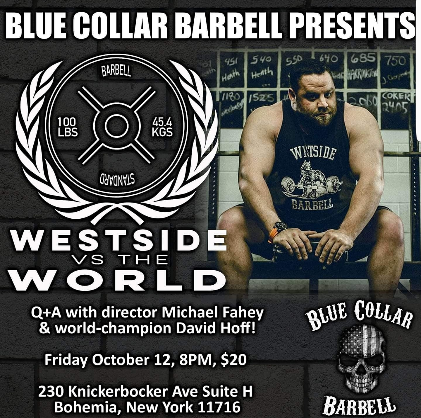 westside barbell Q&A at Blue Collar Barbell